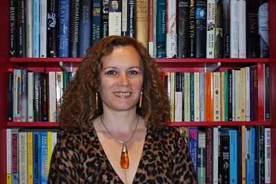 Caroline-with-books